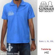 T-Shirt Polo : Follow the Sunnah, Not Society