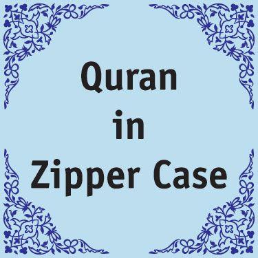 Quran in Zipper Case