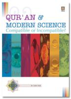 Quran and Modern Science : Compatible or Incompatible