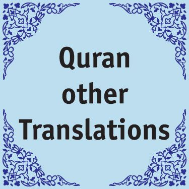Quran other Translations