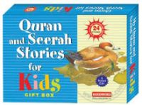 Quran and Seerah Stories for Kids - Gift Box (Two Hard Bound Books - 24 stories)
