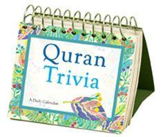 Quran Trivia : A Daily Desktop Calendar - Perpetual, lifetime use