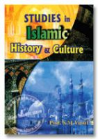 Studies in Islamic History and Culture