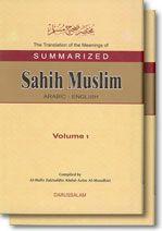 Summarized Sahih Muslim - English (2 Vols. Set)