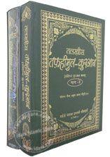 Talkhees Tafheemul Quran Hindi - 2 Volumes Set