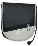 Travel Prayer Mat Rug (Musallah) ROUND Zip Pouch - Water Proof Material | SMALL